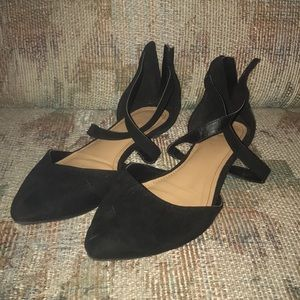 Charlotte Russe strappy women's flats size 10